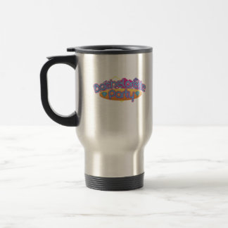 funky bachelorette wedding bridal shower party 15 oz stainless steel travel mug