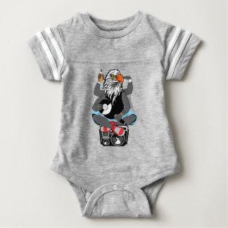 Funky Bald Eagle Baby Bodysuit