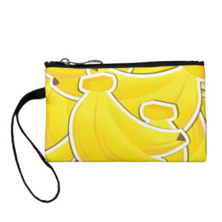 Funky banana coin wallets