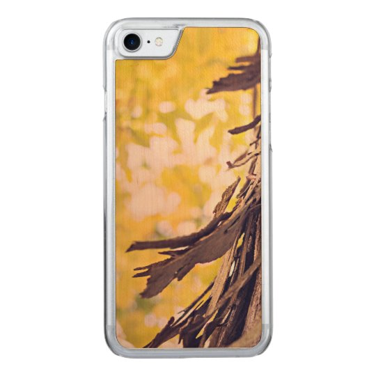 Funky bark carved iPhone 7 case