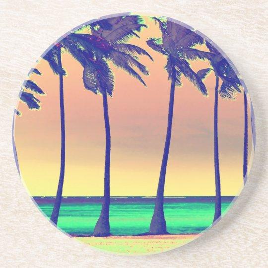funky beach Coaster