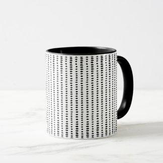 Funky, Black & White Abstract Pattern Mug