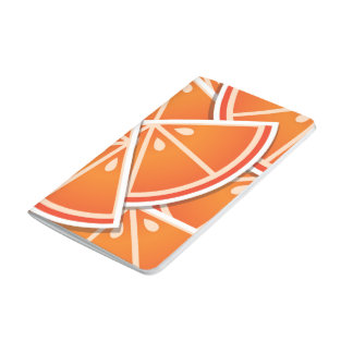 Funky blood orange wedges journals