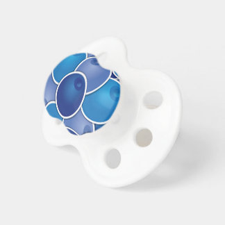 Funky blueberry pacifier