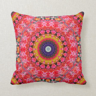 Funky Boho Throw Pillow