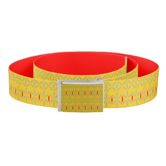 funky bold on mustard belt
