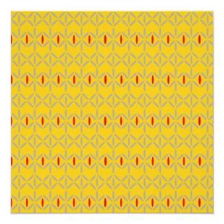funky bold on mustard card