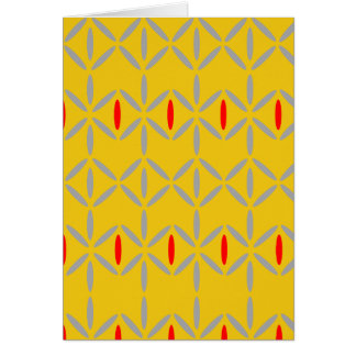 funky bold on mustard card