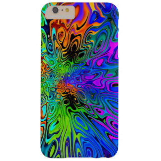 Funky Bright Psychedelic Barely There iPhone 6 Plus Case