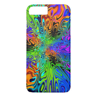 Funky Bright Psychedelic iPhone 8 Plus/7 Plus Case