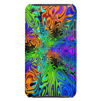 Funky Bright Psychedelic iPod Touch Cases