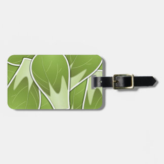 Funky brussel sprout bag tag