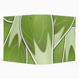 Funky brussel sprout vinyl binder