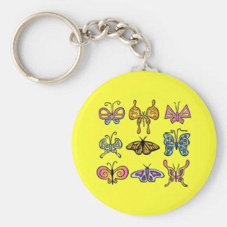 Funky Butterfly Keychain