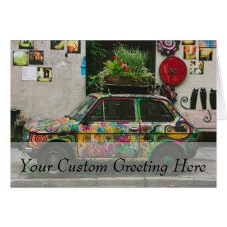 Funky Car Card