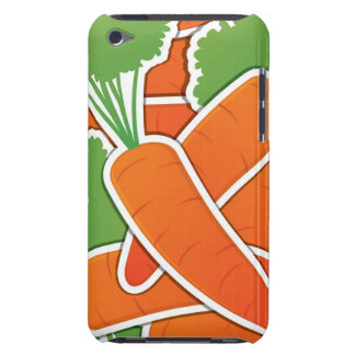 Funky carrots! barely there iPod cover
