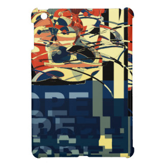 Funky Cat Abstract iPad Mini Cases
