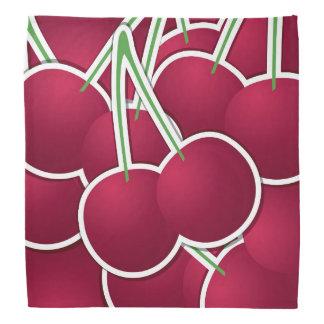 Funky cherry kerchief