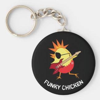 Funky Chicken Keychain
