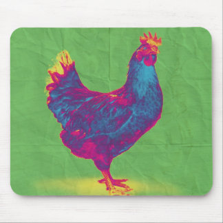 Funky Chicken Mouse Pad
