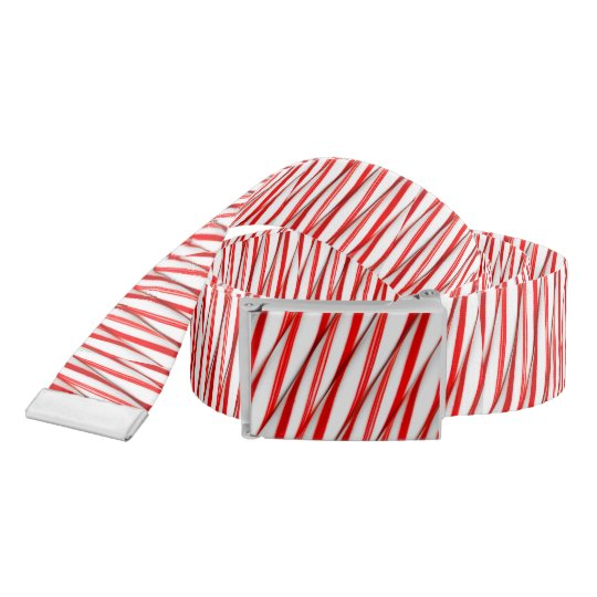 Funky Chrstmas Candy Canes Belt