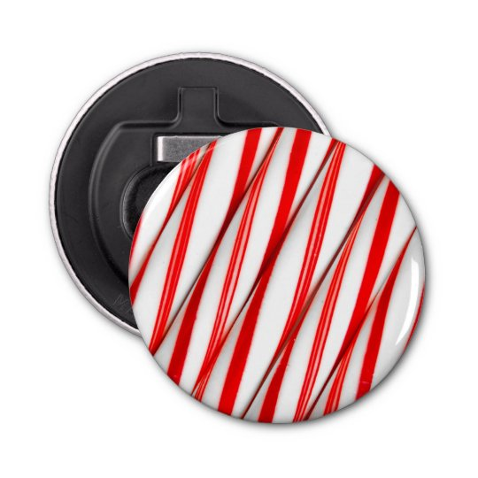 Funky Chrstmas Candy Canes Bottle Opener