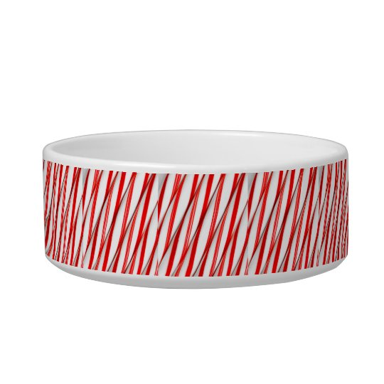 Funky Chrstmas Candy Canes Bowl