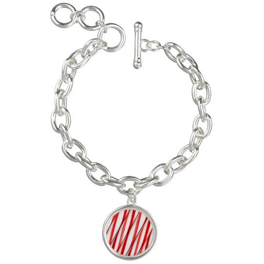 Funky Chrstmas Candy Canes Bracelets