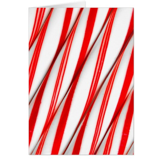 Funky Chrstmas Candy Canes Card