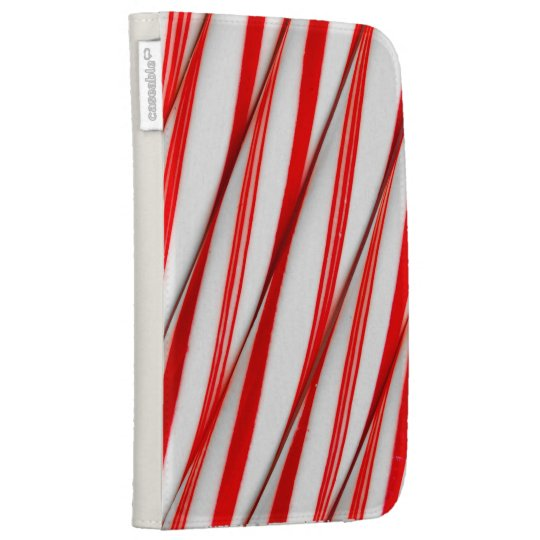 Funky Chrstmas Candy Canes Case For Kindle