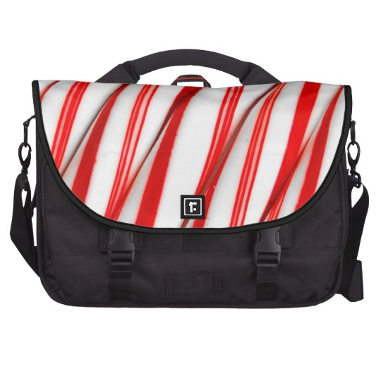 Funky Chrstmas Candy Canes Commuter Bags