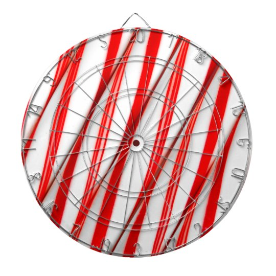 Funky Chrstmas Candy Canes Dartboard