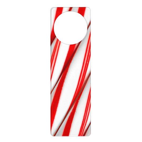 Funky Chrstmas Candy Canes Door Hanger