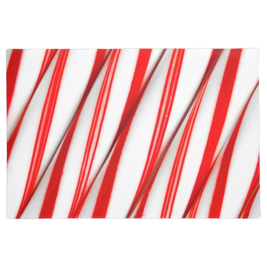 Funky Chrstmas Candy Canes Doormat