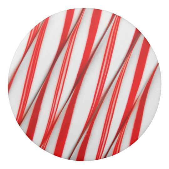 Funky Chrstmas Candy Canes Eraser
