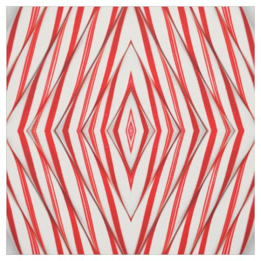 Funky Chrstmas Candy Canes Fabric