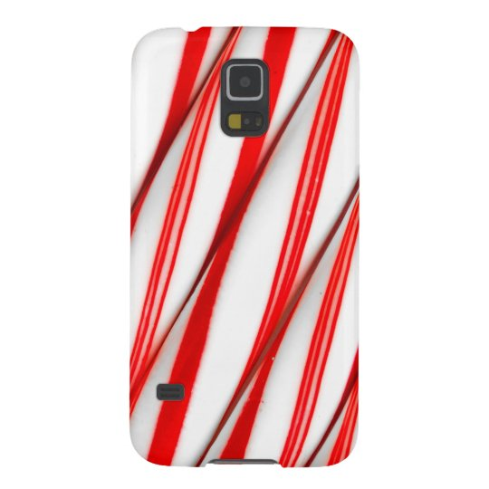 Funky Chrstmas Candy Canes Galaxy S5 Case