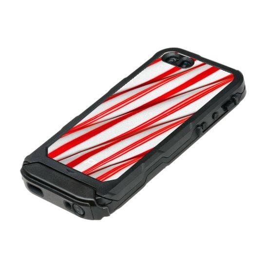 Funky Chrstmas Candy Canes Incipio ATLAS ID™ iPhone 5 Case