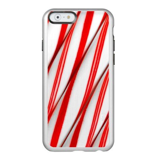 Funky Chrstmas Candy Canes Incipio Feather® Shine iPhone 6 Case