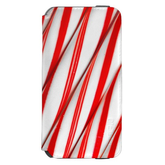 Funky Chrstmas Candy Canes Incipio Watson™ iPhone 6 Wallet Case