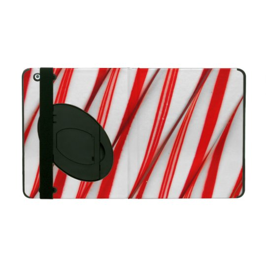Funky Chrstmas Candy Canes iPad Case