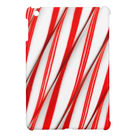 Funky Chrstmas Candy Canes iPad Mini Covers