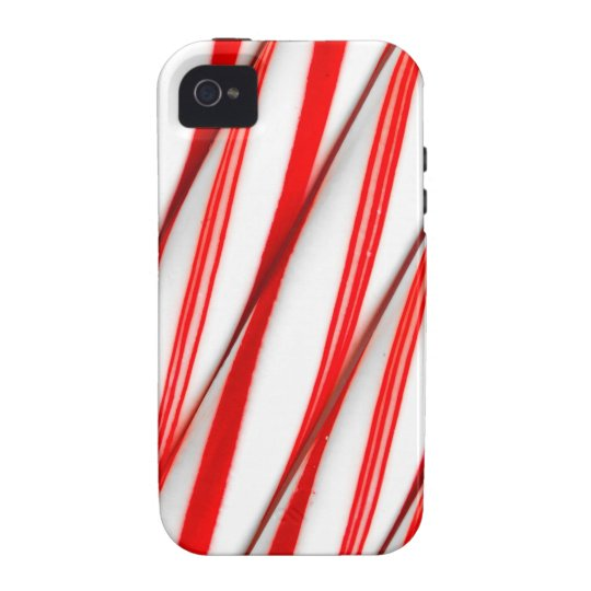 Funky Chrstmas Candy Canes iPhone 4 Covers