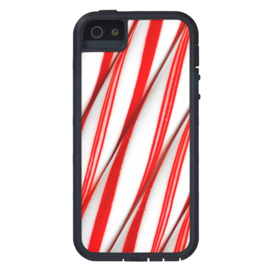 Funky Chrstmas Candy Canes iPhone 5 Case