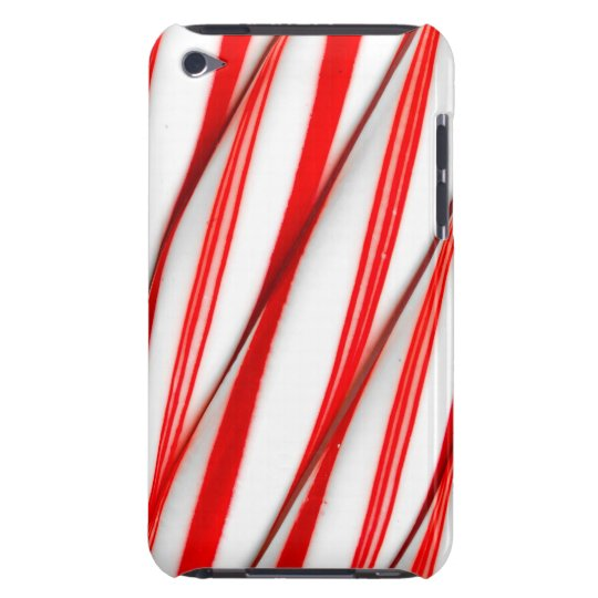 Funky Chrstmas Candy Canes iPod Touch Cases