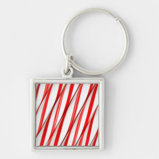 Funky Chrstmas Candy Canes Keychain