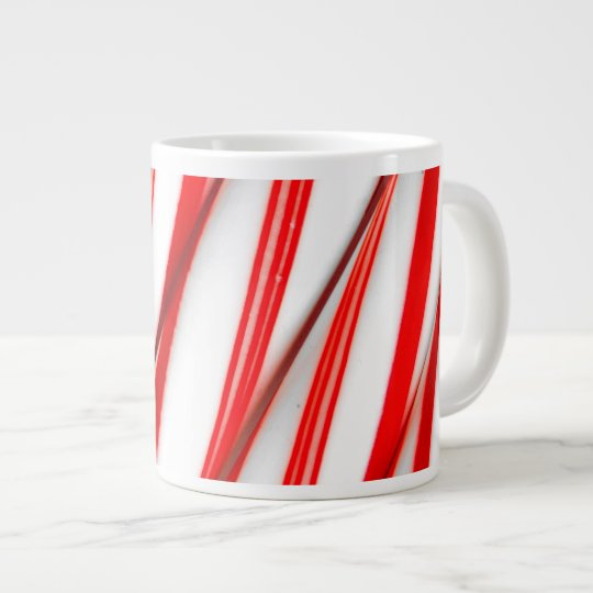 Funky Chrstmas Candy Canes Large Coffee Mug