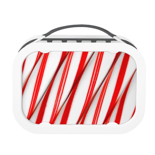 Funky Chrstmas Candy Canes Lunch Box