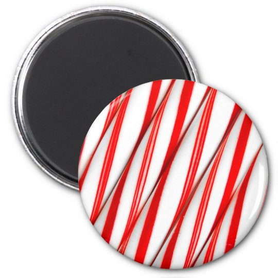 Funky Chrstmas Candy Canes Magnet