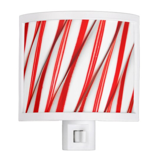 Funky Chrstmas Candy Canes Night Lite